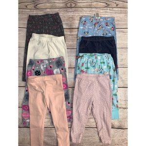 Other - Bundle of eight girls pants